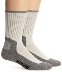 Wigwam Men's At Work DuraSole Work 2-Pack Crew Length Work