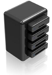 Lexar Professional Workflow HR1 Four-Bay USB 3.0 Reader Hub