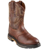 Ariat Men's Workhog Pull-On Work Boot, Dark Copper, 12 2E US