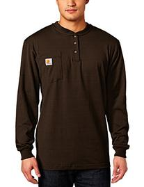Carhartt Men's Workwear Pocket Long Sleeve Henley Midweight