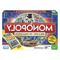 Monopoly Here & Now World Edition with Bonus Monopoly