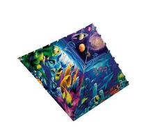 300 Piece Worlds of Wonder Pyramid Puzzle Art by David