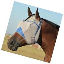 Cashel Wounded Warrior Crusader Fly Mask Yearling Blue