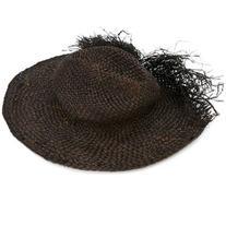 Isabel Benenato - woven hat - women - Straw - M