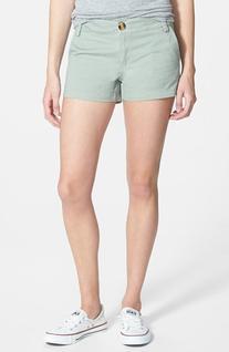 Junior Women's The Hanger Woven Shorts, Size Medium - Green