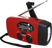 Ambient Weather WR-089 Compact Emergency Solar Hand Crank AM