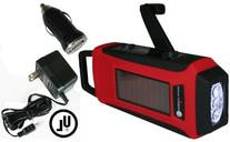 Ambient Weather WR-099-U-KIT Compact Emergency Solar Hand