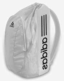 Adidas Wrestling Gear Bag: White/Black