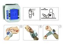 Easy@Home Digital Wrist Blood Pressure Monitor with Heart