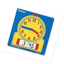 Learning Resources Write On/Wipe Off Student Clocks Set of