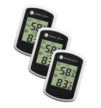 Ambient Weather WS-03-3 Compact Indoor Temperature and