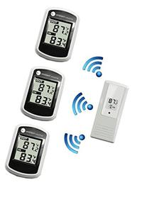 Ambient Weather WS-40-3 Tri Zone Wireless Thermometer with
