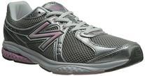 New Balance Women's WW665 Fitness Walking Shoe,Grey/Pink,9 B