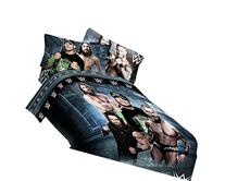 "WWE Industrial Strength Full 76""x86"" Microfiber Comforter"