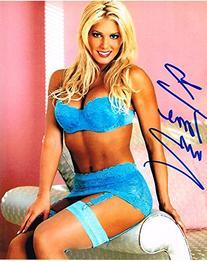 Wwe Wwf Wcw Diva Torrie Wilson Autographed 8x10 Hot Photo
