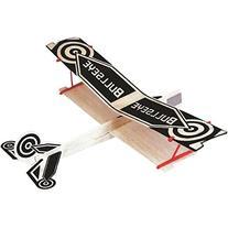 WWI Biplane Balsa Wood Glider Plane