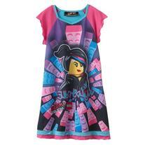 LEGO Movie Wyldstyle Girls Nightgown Size 4/5