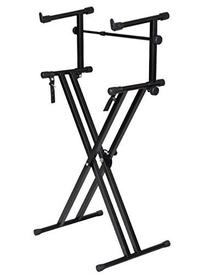 TMS X Style Pro Dual Music Keyboard Stand Electronic Piano