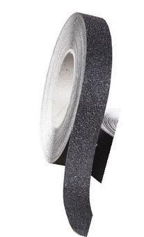 "Safe Way Traction 1"" X 60' Foot Roll of Black Rubberized"