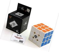 Cuberspeed X-Man Tornado 3x3 White Magic cube Qiyi XMD Wind