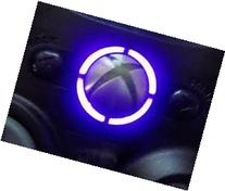 Xbox 360 controller led mod RING OF LIGHT LEDS- PURPLE