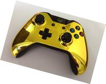 LifeMods Xbox ONE Gold Chrome Controller Housing Shell -