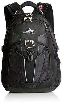 High Sierra XBT TSA Backpack, Black
