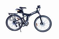 X-Cursion Electric Folding Mountain Bicycle - Black