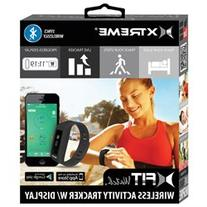 Xtreme xFit Watch Black Wireless Activity Tracker