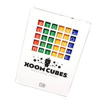 Xoom Cubes White by BAXBO Word Race Dice Game Pack A  Second
