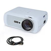 Crenova XPE460 LED Video Projector Home Projector with Free