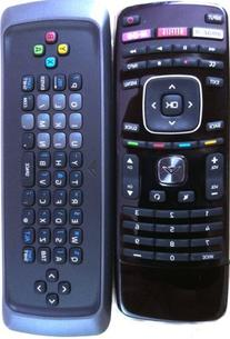 New Original Vizio Xrt302 Qwerty Keyboard Remote for M650vse