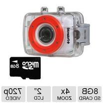 Polaroid XS7 Waterproof Hi-Def HD Sports Video Camera