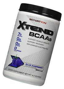 Scivation Xtend BCAAs, Blue Rasberry, 30 Servings