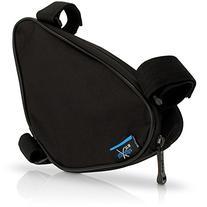 iGadgitz Xtra Black Water Resistant Corner Frame Triangle