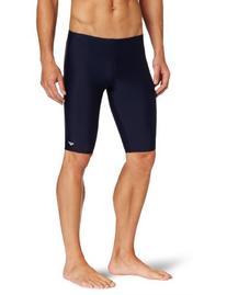 The Finals Men's Xtra Life Lycra Solid Jammer Swimsuit, Navy