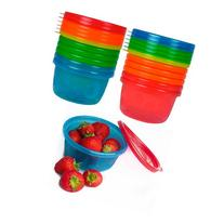 First Years Y1032v Take & Toss Bowls with Lids, 8 oz, Pack