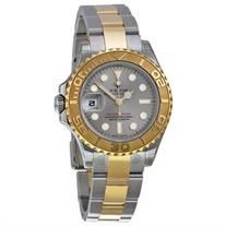 Rolex Yacht-Master Grey Dial Steel and 18K Yellow Gold