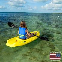 Lifetime 6 Foot Yellow Youth Kayak