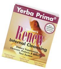 Yerba Prima Cleanse Womn Renew Intrnl Kit