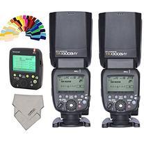 YONGNUO YN024 YN600EX-RT Wireless Flash Speedlite 2 Piece