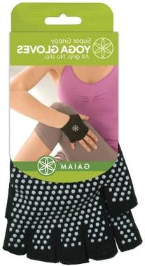 Gaiam Grippy Yoga Gloves, Grey