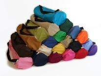 Bean Yoga Mat Bag Extra Large Easy Open Zipper 100% Cotton