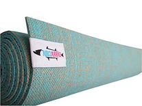 Hot Yoga Mat By BARRACUDA. Infused With All-Natural,