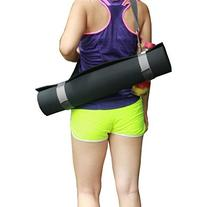 Yoga Mat Sling,Durable Functional Carrying Strap Plus One