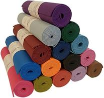 "Yoga Monster Mat 1/4""x72"" Extra Thick 17 Colors SGS Approved"