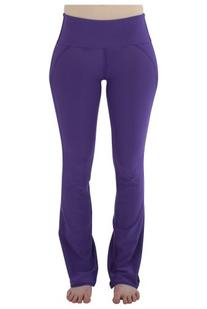 NiaWear Women's Yoga Pant - ST - Purple