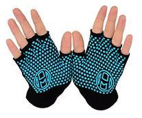 Mato & Hash Yoga Pilates Fingerless Exercise Grip Gloves -
