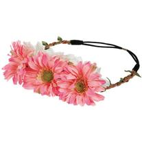 Yoins Pastoral Rattan Weave Stretch Headband in Flower