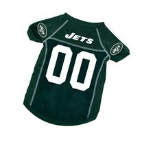 New York Jets Deluxe Dog Jersey - Large